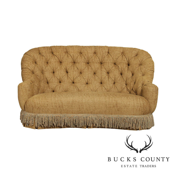 Century Large Tufted Upholstered Sofa