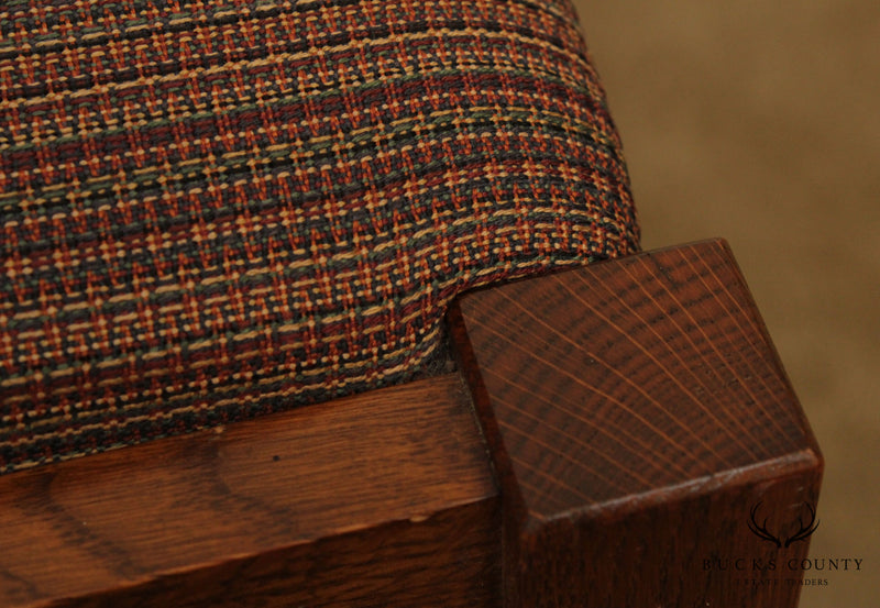 Stickley Mission Collection Oak Footstool
