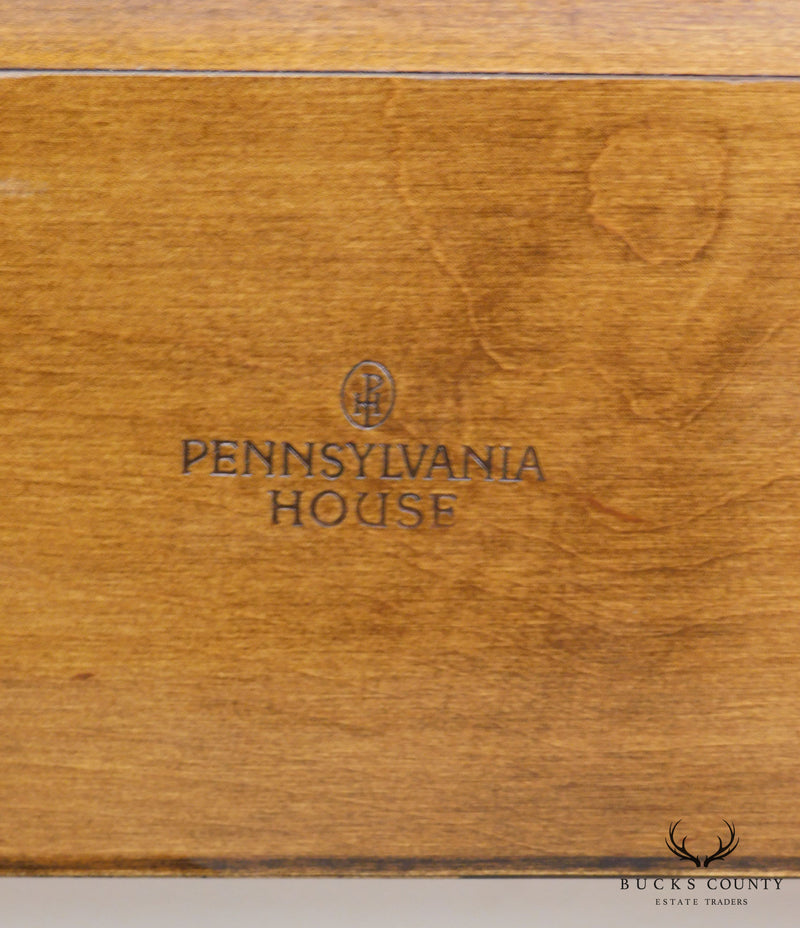 Pennsylvania House King Size Maple Sleigh Bed