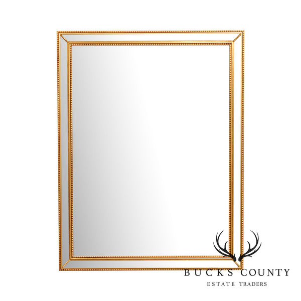 LaBarge Gilt Frame Beveled Wall Mirror