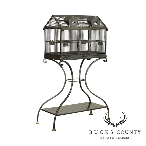 Maitland Smith Steel Bird Cage