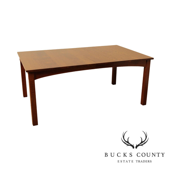Stickley Mission Collection Oak Harvey Ellis Dining Table