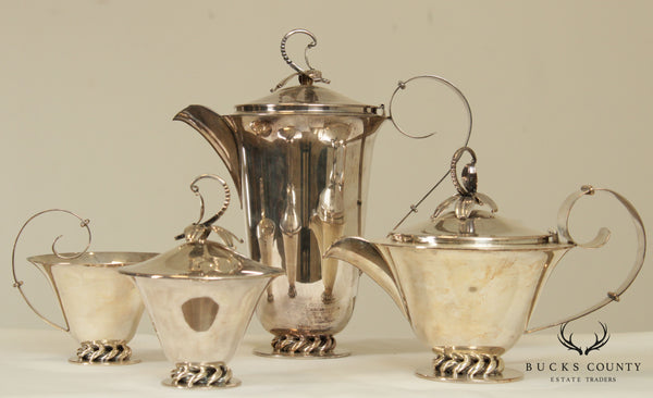 Royal Hickman Silverplate Tea and Coffee Service