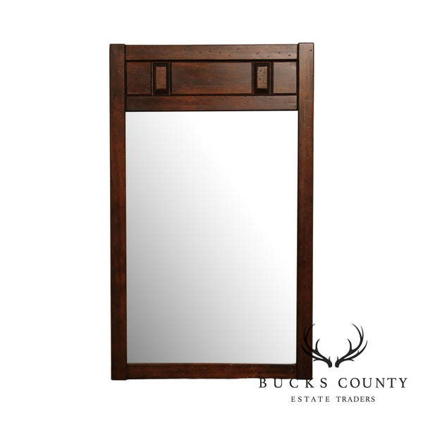 Rustic Southwest Style Pine Mirror