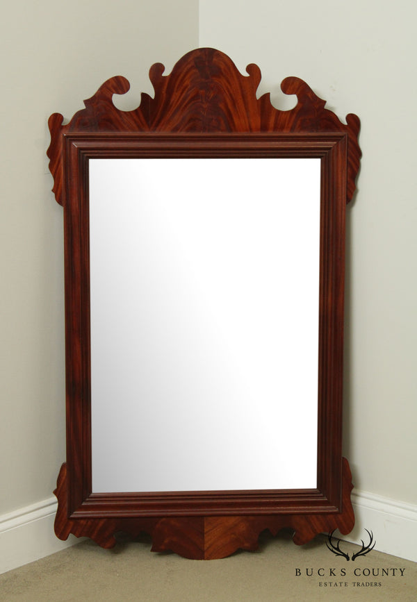Councill Craftsmen Chippendale Style Mahogany Wall Mirror
