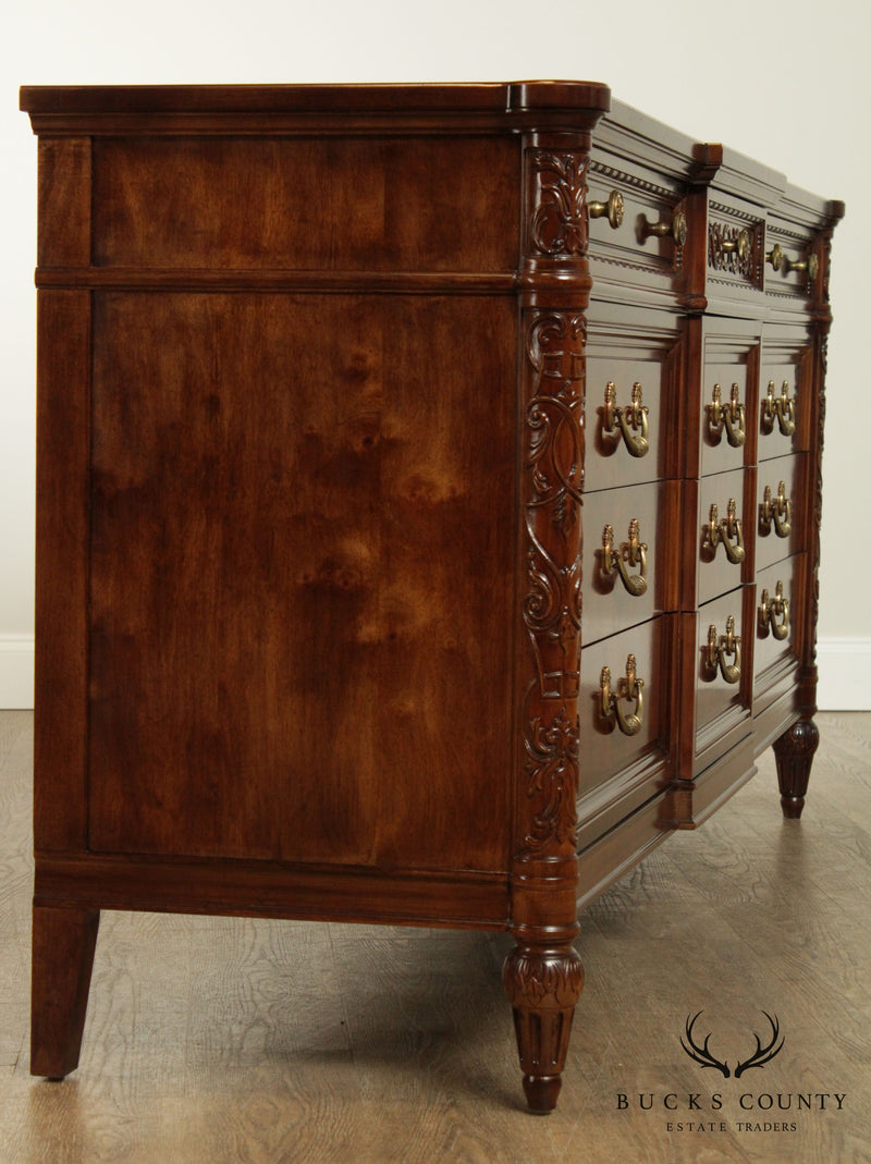 "Henredon ""Villa Borghese"" Collection French Louis XVI Style Long Dresser"