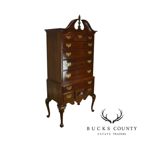 Ethan Allen Georgian Court Collection Queen Anne Highboy