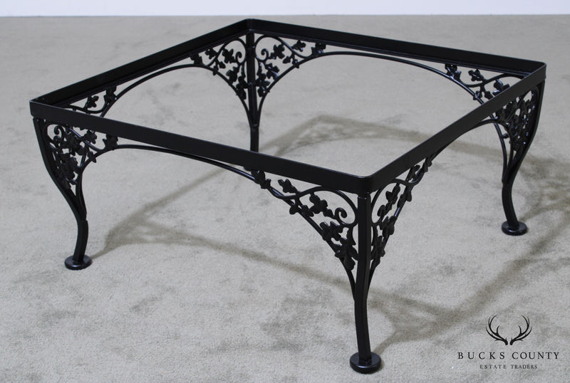 Woodard Vintage Wrought Iron Ottoman Base