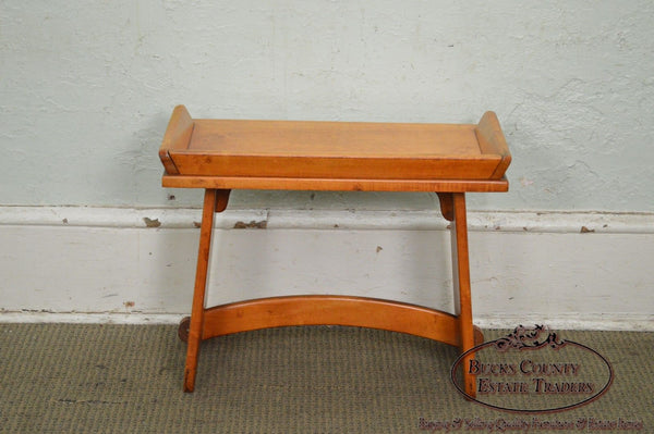 Virginia House Solid Maple Wagon Seat Bench