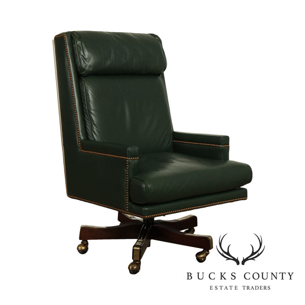 St. Timothy Green Leather Executive Office Desk Chair