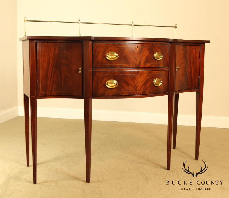 Hickory Chair Federal Style Mahogany Sideboard