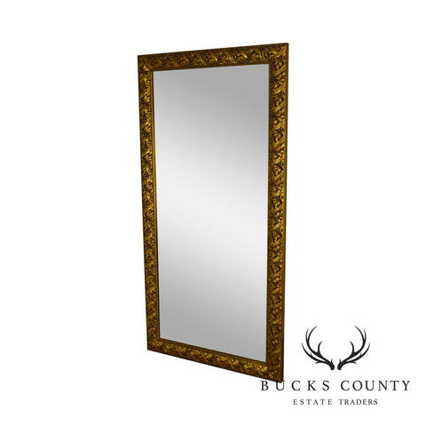 "72"" x 36"" Large Carved Gold Gilt Frame Wall Mirror"