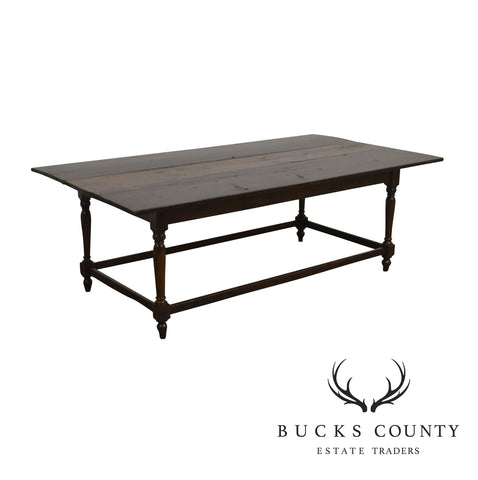 Antique Rustic Farm House Dining Table