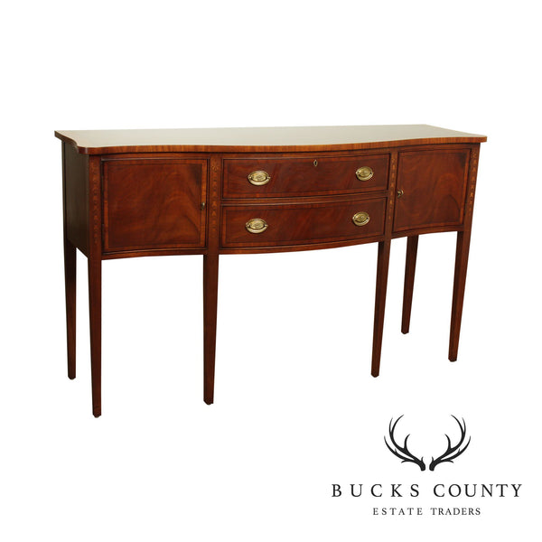 Ethan Allen 18th Century Collection Mahogany Inlaid Hepplewhite Style Sideboard (B)