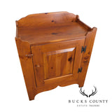 Ethan Allen Country Craftsman Collection Pine One Door Cabinet Drysink
