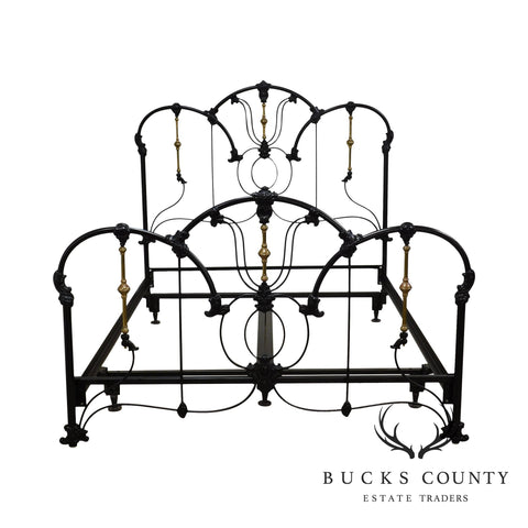Elliot's Designs Victorian Style Iron Queen Bed