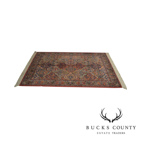 Karastan Multicolor Panel 5.9 x 6.9 Area Rug # 717