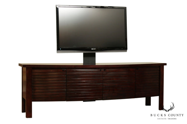 "Sligh Studio Designs 84"" Umber TV, Entertainment Stand"