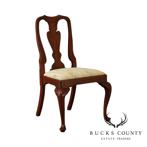 Henkel Harris Solid Cherry Queen Anne Mount Vernon Side Chair