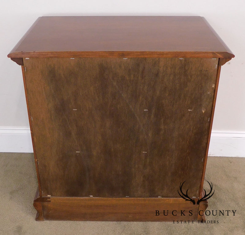 Colonial Furniture Company Solid Cherry 3 Drawer Chest Nightstand