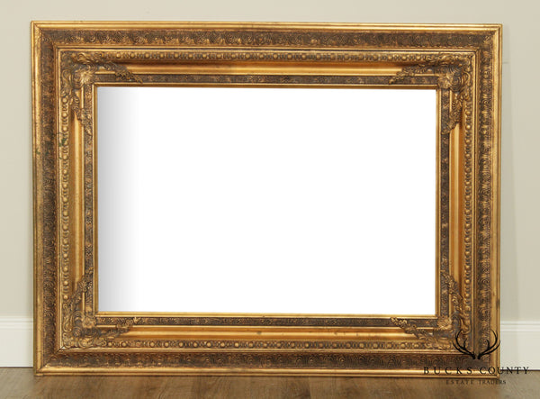 French Style Gilt Frame Rectangular Wall Mirror