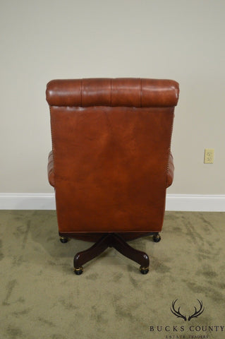 Marvelous Hancock Moore Tufted Brown Leather Executive Desk Chair Forskolin Free Trial Chair Design Images Forskolin Free Trialorg
