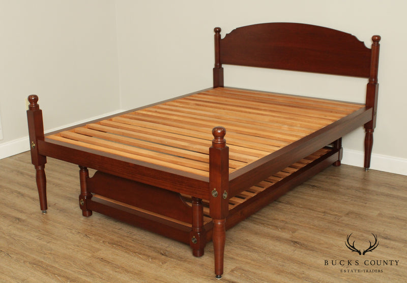 Irion Company Custom Crafted Shaker Style Cherry Queen Bed