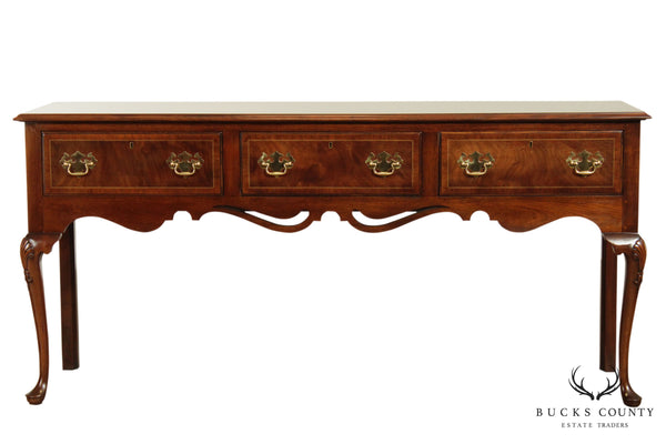 "Statton ""Warfield Collection"" Mahogany Queen Anne Sideboard"