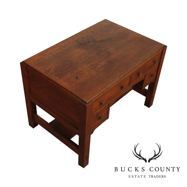 Limbert Antique Mission Oak Desk