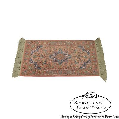 Karastan Medallion Serapi Area Throw Rug #736 2.2' x 4'