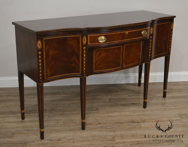 Kittinger Federal Style Mahogany Inlaid Sideboard