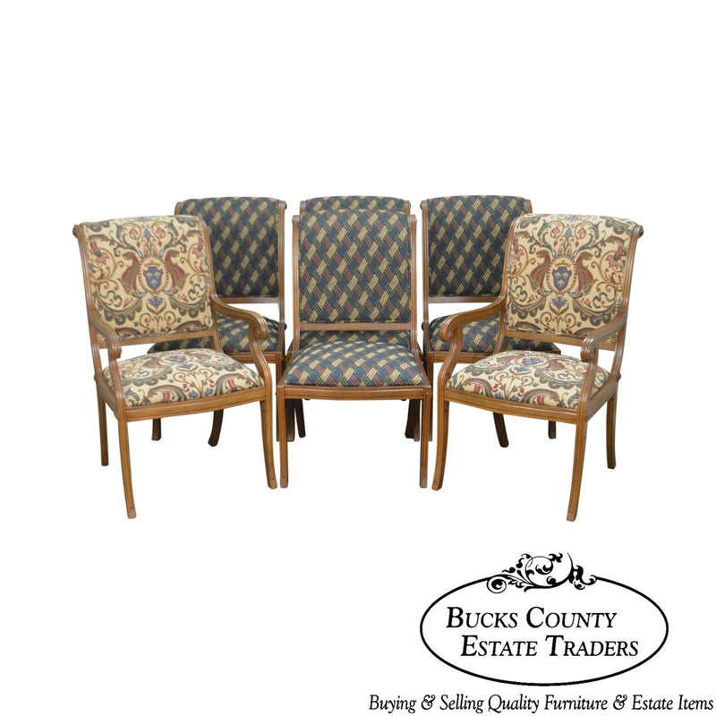 Andre Originals Regency Directoire Style Set of 6 Dining Chairs