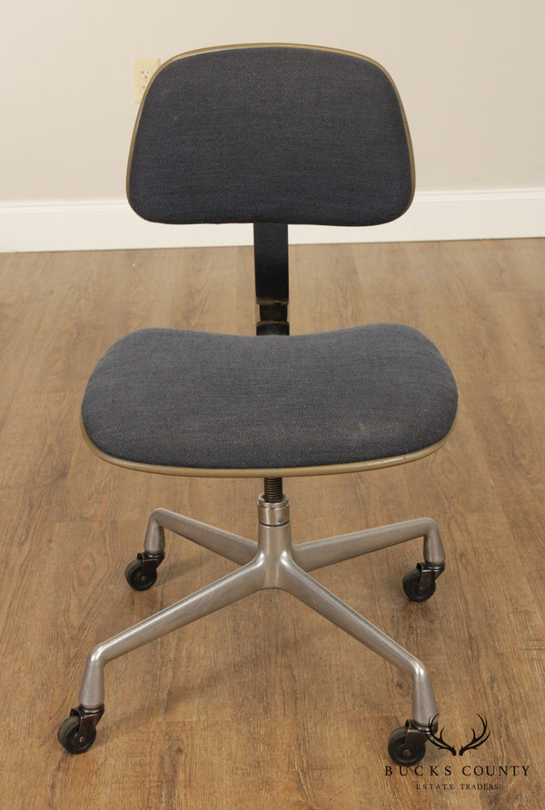 Herman Miller Mid Century Modern Adjustable Swivel, Rolling Desk Chair
