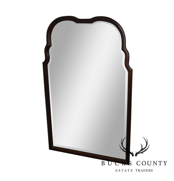 Thomasville Mahogany Frame Beveled Wall Mirror