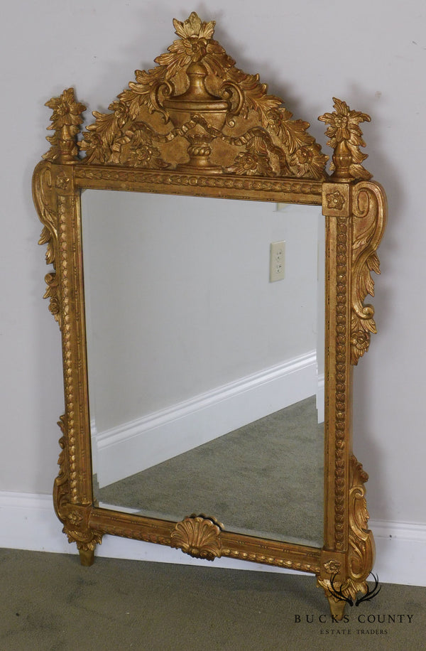 Mirror Fair Quality Gilt Frame Louis XIII Style Wall Mirror