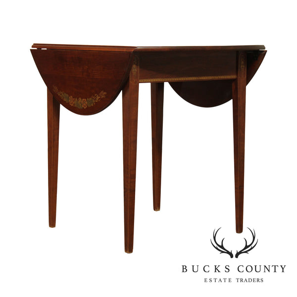 Hitchcock Maple Drop Leaf Dining Table