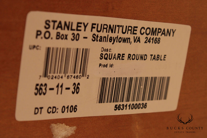 Stanley French Country Style 48 inch Square to 68 inch Round Dining Table