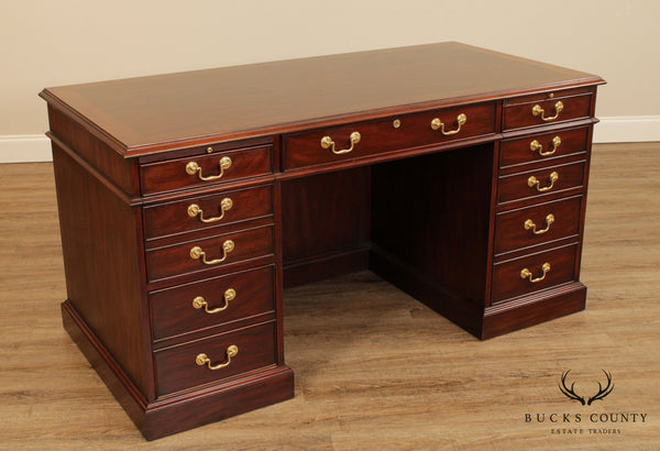Henkel Moore (Henkel Harris) Mahogany Executive Desk