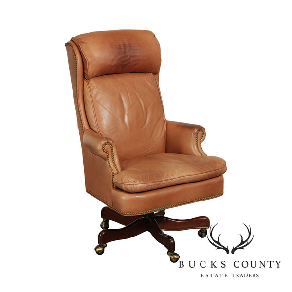 Hancock & Moore Leather Executive Desk Chair