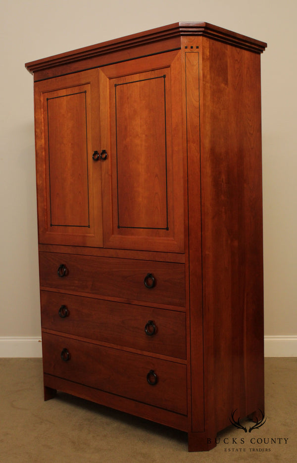 Stickley 21st Century Collection Cherry Armoire TV Cabinet