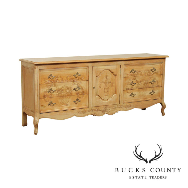 Wellesley Guild French Country Style Hand Crafted Long Dresser