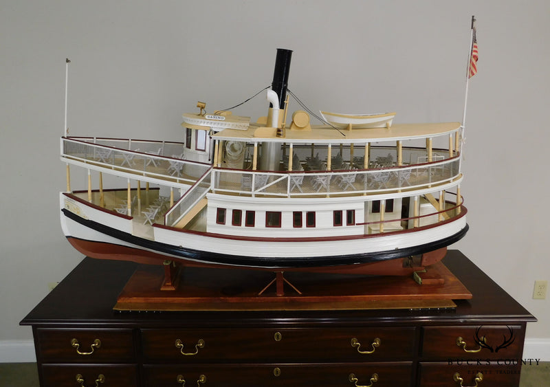 S.S. Sabino: Steamboat Large Scale Vintage Replica Model Ship