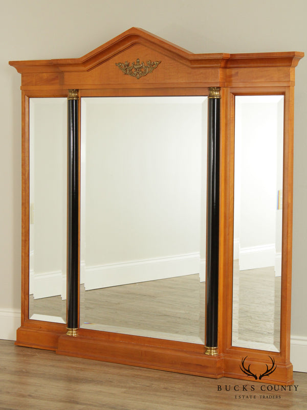 Thomasville Grand Classics Biedermeier Empire Triple Panel Mirror