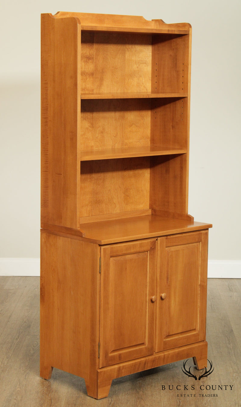 Moosehead Traditional Solid Maple Bookcase Top Cabinet