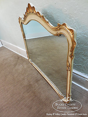 Widdicomb Venetian Gilt Accented French Style Mirror