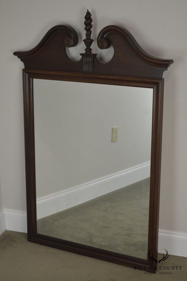 Ethan Allen Georgian Court Cherry Arch Top Mirror