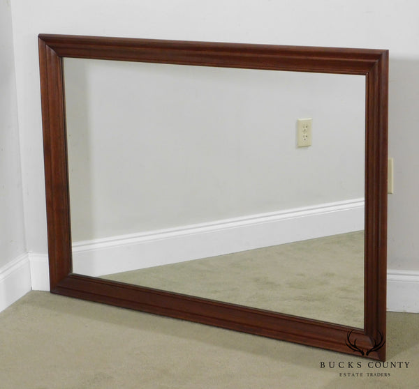 Ethan Allen Traditional Vintage Solid Cherry Frame Wall Mirror