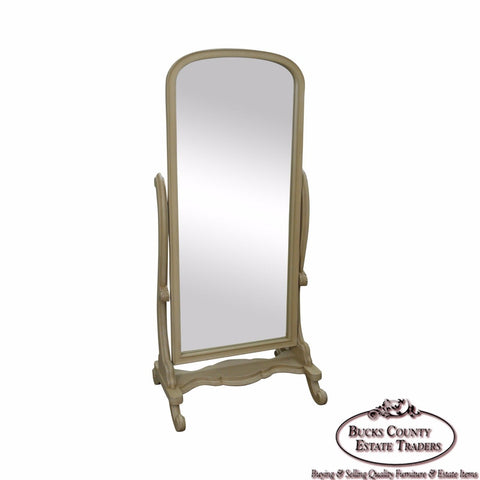 Quality Painted Beveled Glass Cheval Mirror