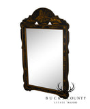 Chinoiserie Black & Gold Painted Mirror