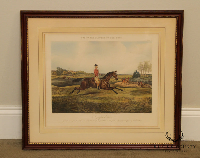 Henry Thomas Alken 'One of the Flowers of our Hunt' Vintage Framed Print